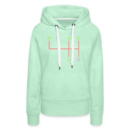Shift it ! - Sweat-shirt à capuche Premium pour femmes