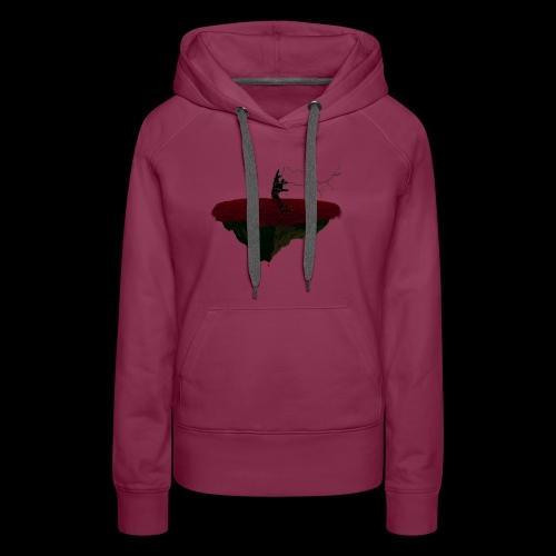Main de l'enfer démoniaque. - Sweat-shirt à capuche Premium pour femmes
