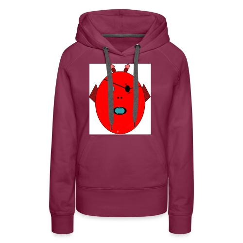 The red monster - Premiumluvtröja dam