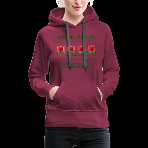 Advent-Countdown 2 - Frauen Premium Hoodie