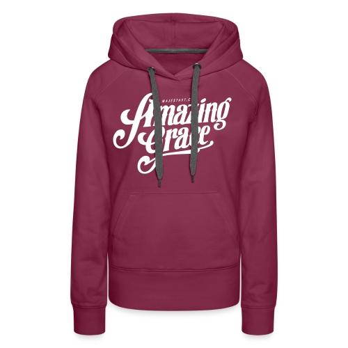 Amazing grace Scraz - Sweat-shirt à capuche Premium pour femmes