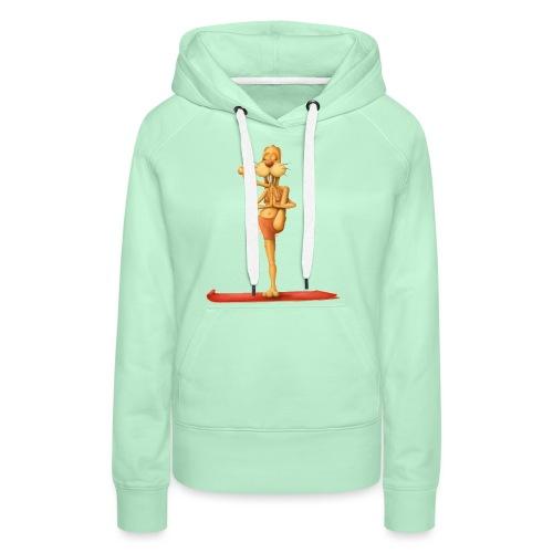 Yoga - Rabbit - Frauen Premium Hoodie