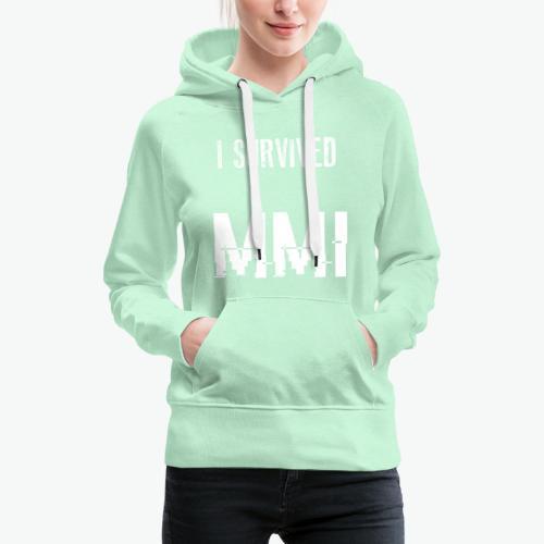 MMI survivor alternative - Sweat-shirt à capuche Premium pour femmes