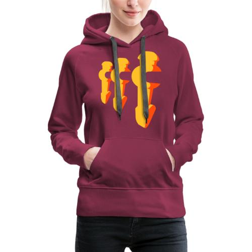 Kickerfiguren - Kickershirt - Frauen Premium Hoodie