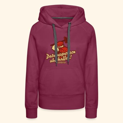 Lustiges Sprüche T Shirt Datumsgrenzen abschaffen - Frauen Premium Hoodie