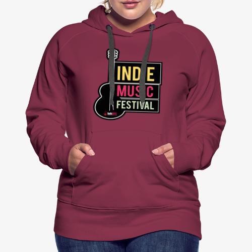 SOUND 001 - Sudadera con capucha premium para mujer
