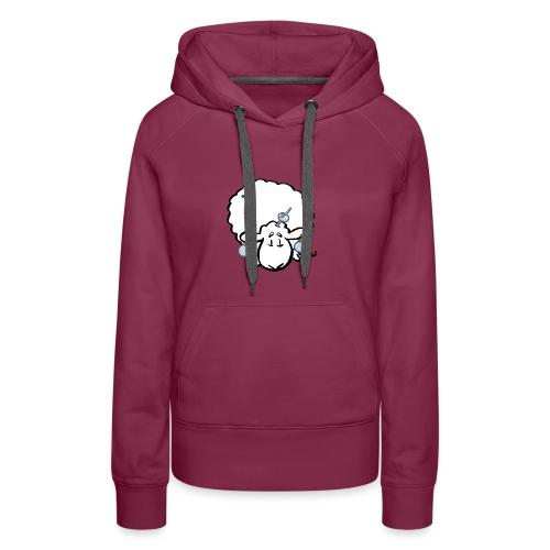 Owca choinkowa - Bluza damska Premium z kapturem