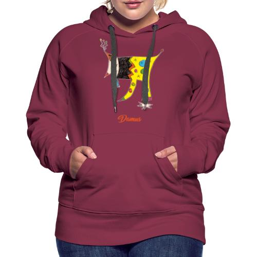Damus - Sweat-shirt à capuche Premium pour femmes