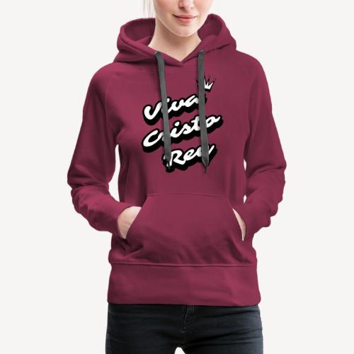 VIVA CRISTO REY - Women's Premium Hoodie