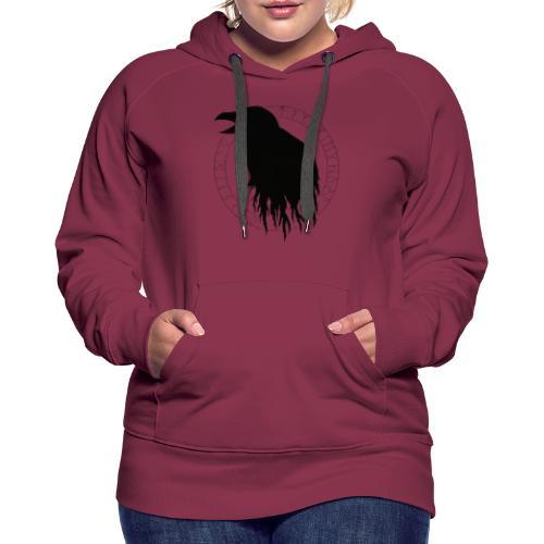 Huginn & Aettir - Sweat-shirt à capuche Premium pour femmes