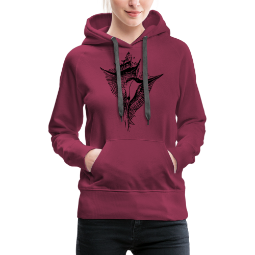 Muschel - Frauen Premium Hoodie