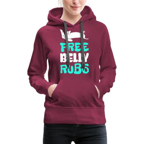 Belly Rubs - Naisten premium-huppari