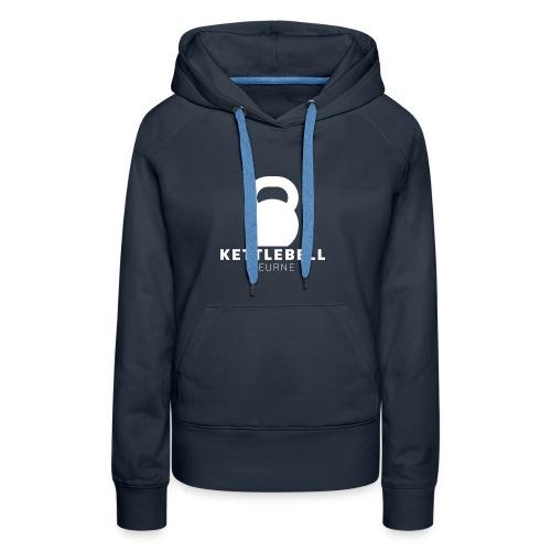 Kettlebell Deurne Wit Logo - Vrouwen Premium hoodie