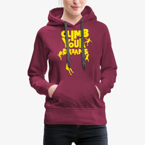 Scale your dreams - Women's Premium Hoodie