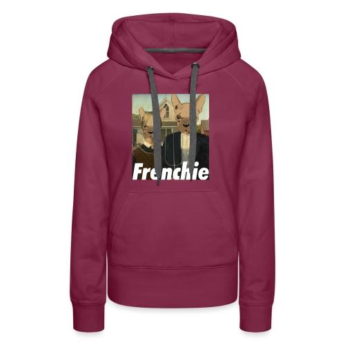 Canadian Frenchie - Sweat-shirt à capuche Premium pour femmes