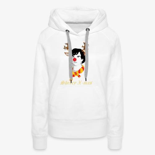 Sherlock Holmes reindeer editie - Vrouwen Premium hoodie