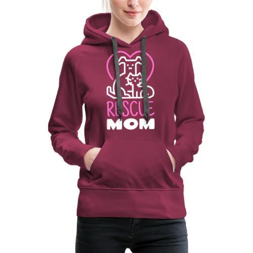 Rescue Mom - Naisten premium-huppari