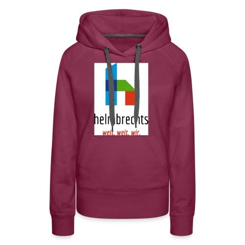 logo_helmbrechts_fa-g-jpg - Frauen Premium Hoodie