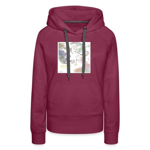 Nirvana - Sweat-shirt à capuche Premium pour femmes