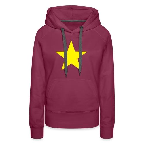étoile couleurs modifia.. - Sweat-shirt à capuche Premium pour femmes