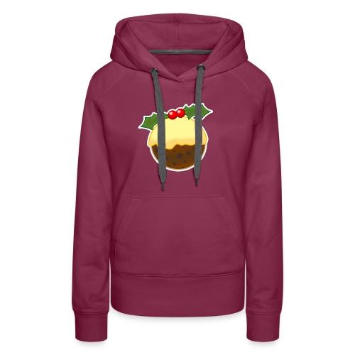 Christmas Pudding - Women's Premium Hoodie