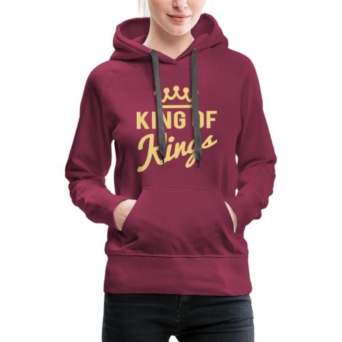 KING OF KINGS - Women's Premium Hoodie