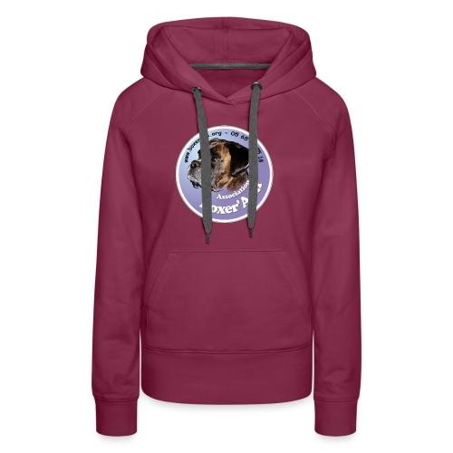 logo boxerami - Sweat-shirt à capuche Premium pour femmes