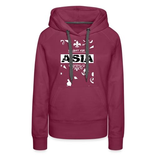 BACK 2 3 png - Vrouwen Premium hoodie
