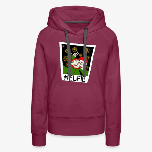 Weihnachtsmann Ugly Xmas - Frauen Premium Hoodie