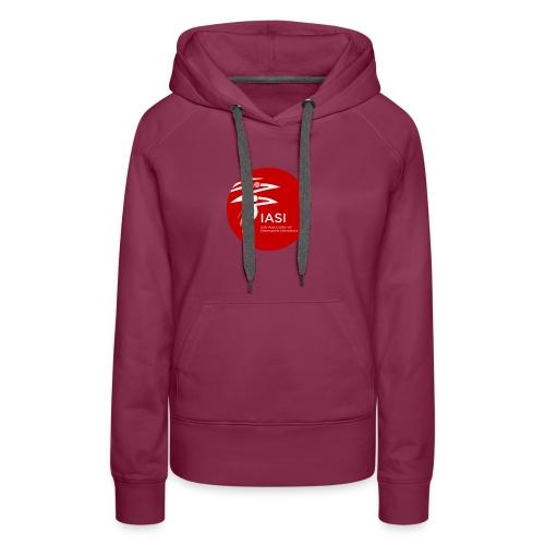 iasi red c60000 - Women's Premium Hoodie