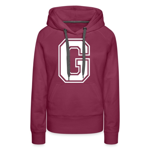 Grime Apparel G Grey Shirt. - Women's Premium Hoodie