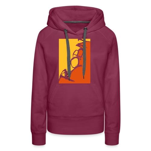 Männer-T-Shirt Robin scripted, schwarz - Frauen Premium Hoodie