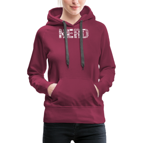 Nerd - Frauen Premium Hoodie
