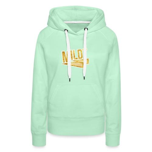 MILDT Gouden Vrouwen Shirt - Vrouwen Premium hoodie