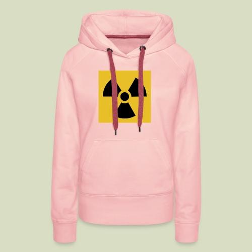 Radiation warning - Naisten premium-huppari