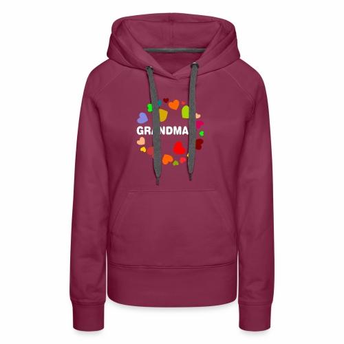 Grandma - Frauen Premium Hoodie