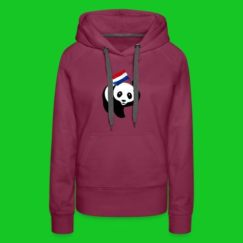 Nederlandse Panda png - Vrouwen Premium hoodie