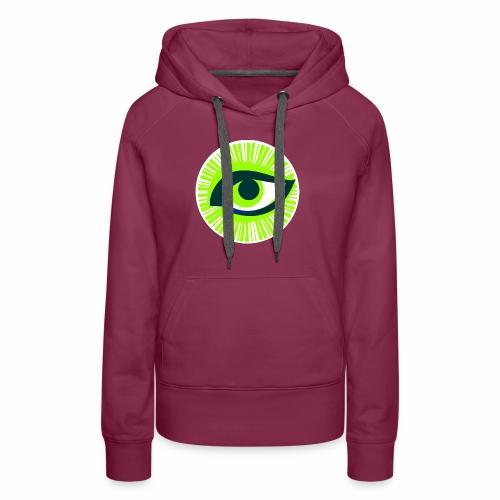 Auge - Frauen Premium Hoodie