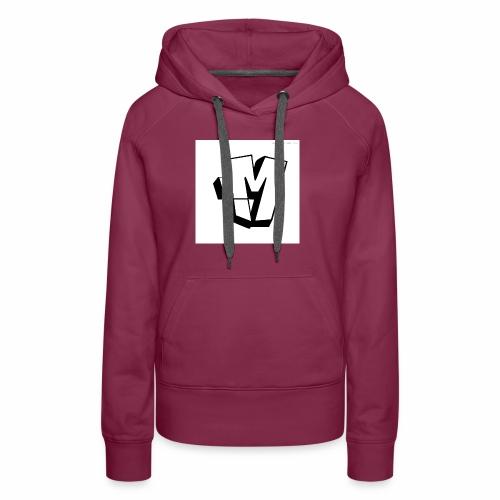 graffiti alphabet m - Women's Premium Hoodie