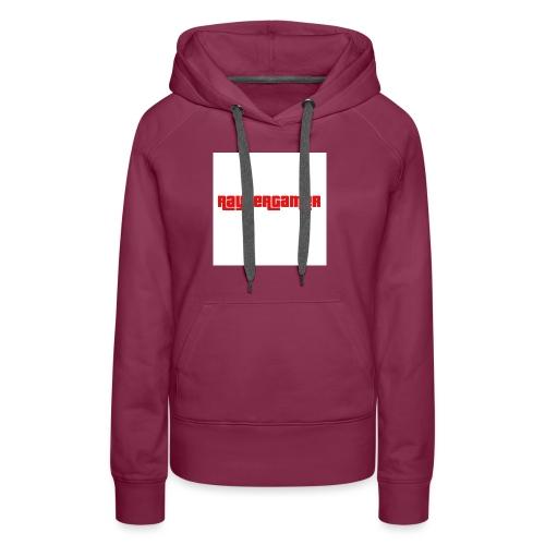 RayZerGamer logo - Women's Premium Hoodie