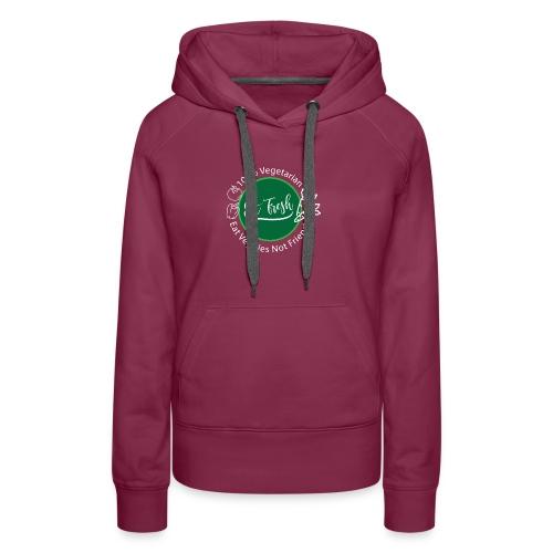 Gezond eten vegetarische t-shirt - Vrouwen Premium hoodie