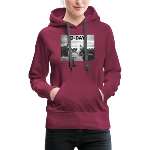 75 Jahre D-Day - Frauen Premium Hoodie