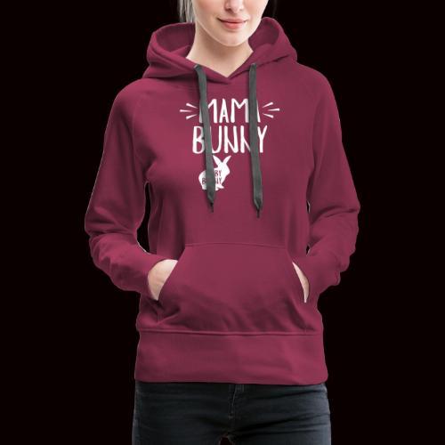 Mama Bunny Schwangerschaft - Frauen Premium Hoodie