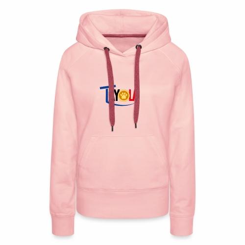 TAYOLA Nouveau logo!!! - Sweat-shirt à capuche Premium pour femmes