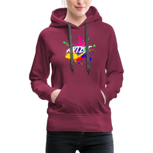 Montrez que vous êtes un Artiste International - Sweat-shirt à capuche Premium pour femmes