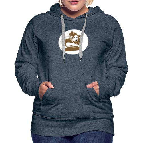 Droove logo - Vrouwen Premium hoodie