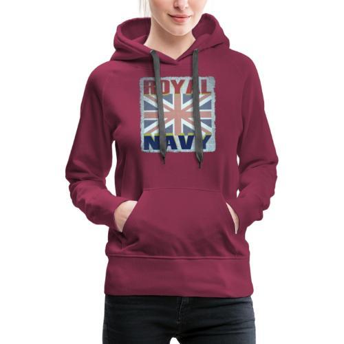 ROYAL NAVY - Women's Premium Hoodie