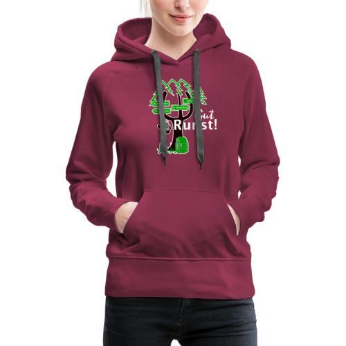 Gut Runst! - Der Rennsteiggruß - Frauen Premium Hoodie