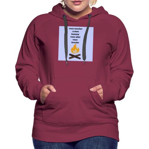 pour homme et femme - Sweat-shirt à capuche Premium pour femmes