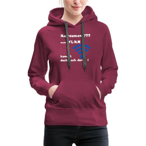 Wlan WE - Frauen Premium Hoodie